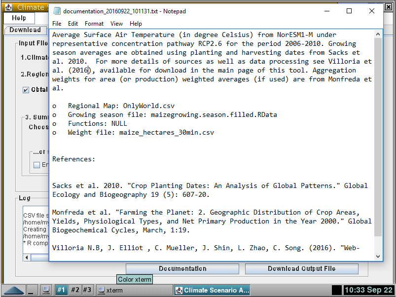 MyGeohub - Resources: Climate Scenario Aggregator: About